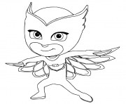 Pj Masks Coloring Pages Free Printable
