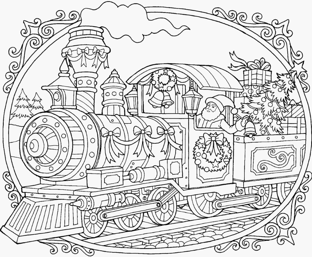 Polar Express Coloring Pages Coloring Rocks