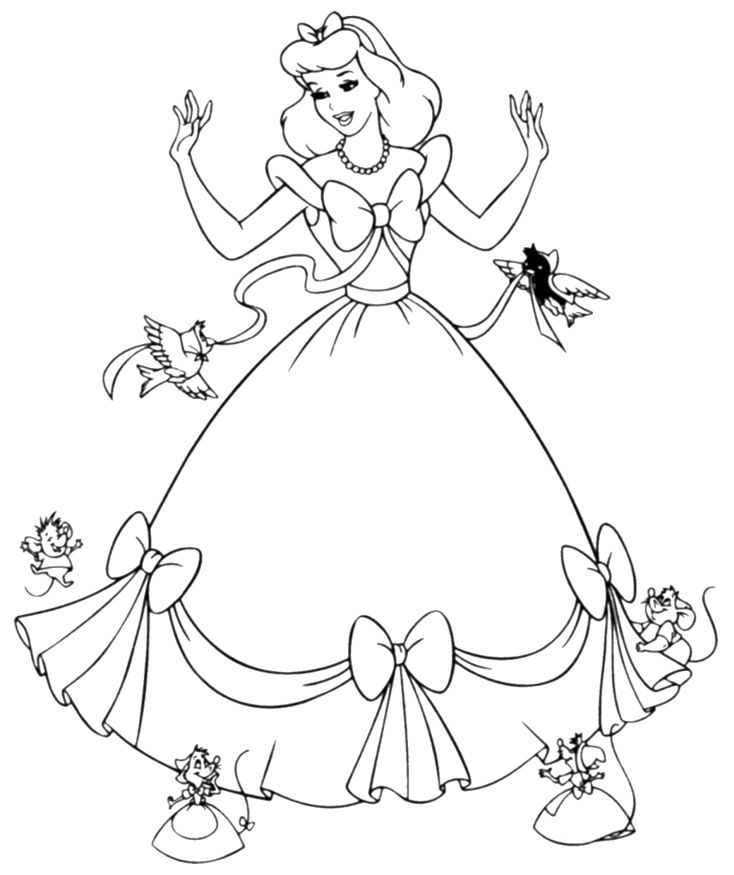 Disney Princess Coloring Pages Coloring Rocks