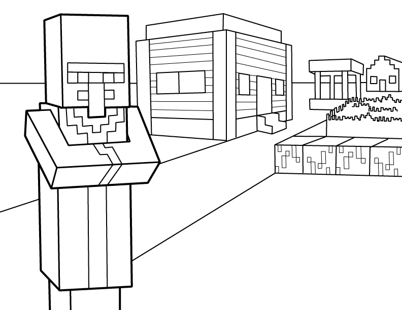 Minecraft Coloring Pages Coloring Rocks
