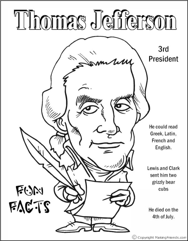 presidents coloring pages # 37