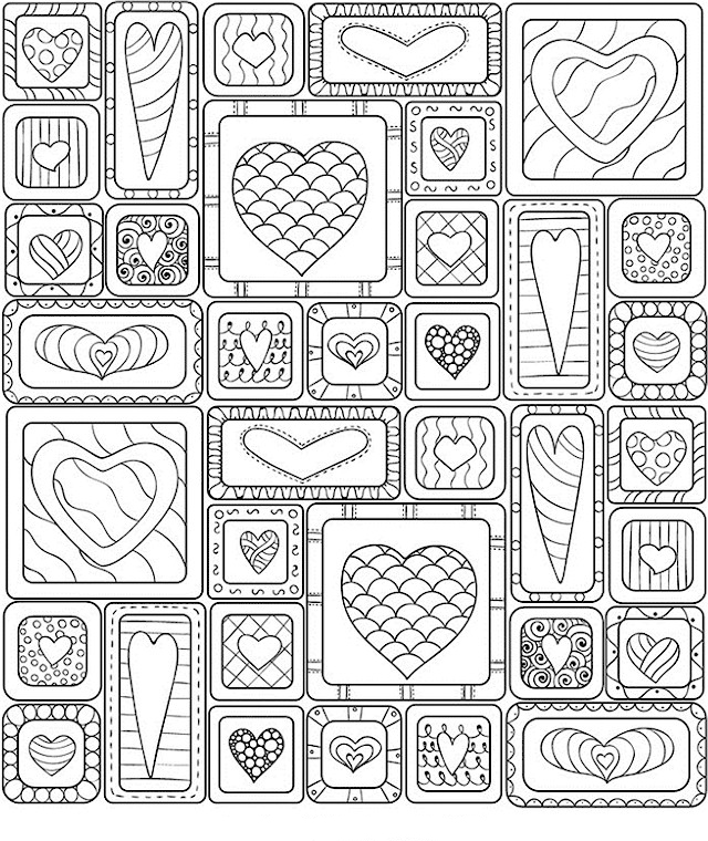 Valentines Day Coloring Pages For Adults Coloring Rocks