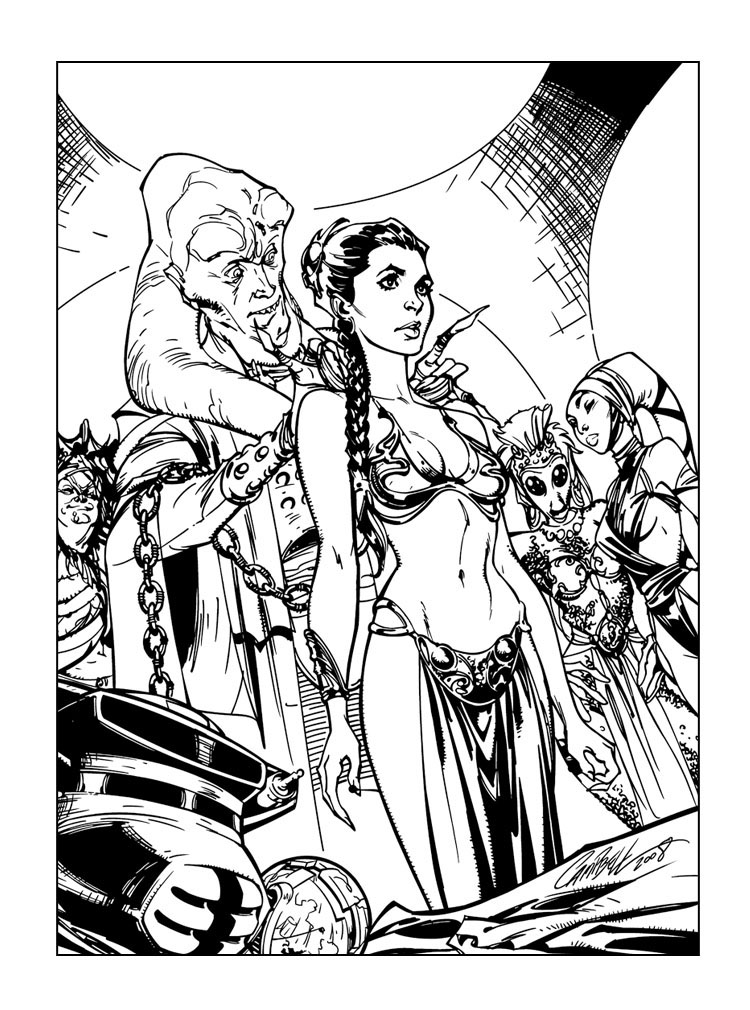 princess leia coloring book coloring pages now