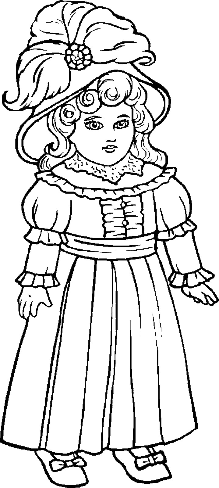 dolls pictures to colour in baby dolls ideas