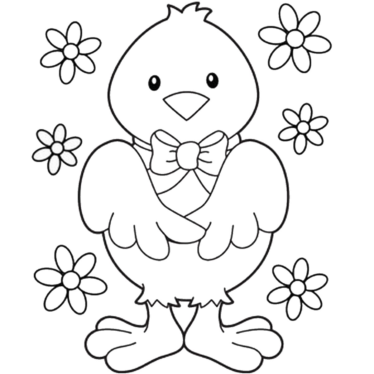 Easter Coloring Pages | free printable easter coloring pages for toddlers