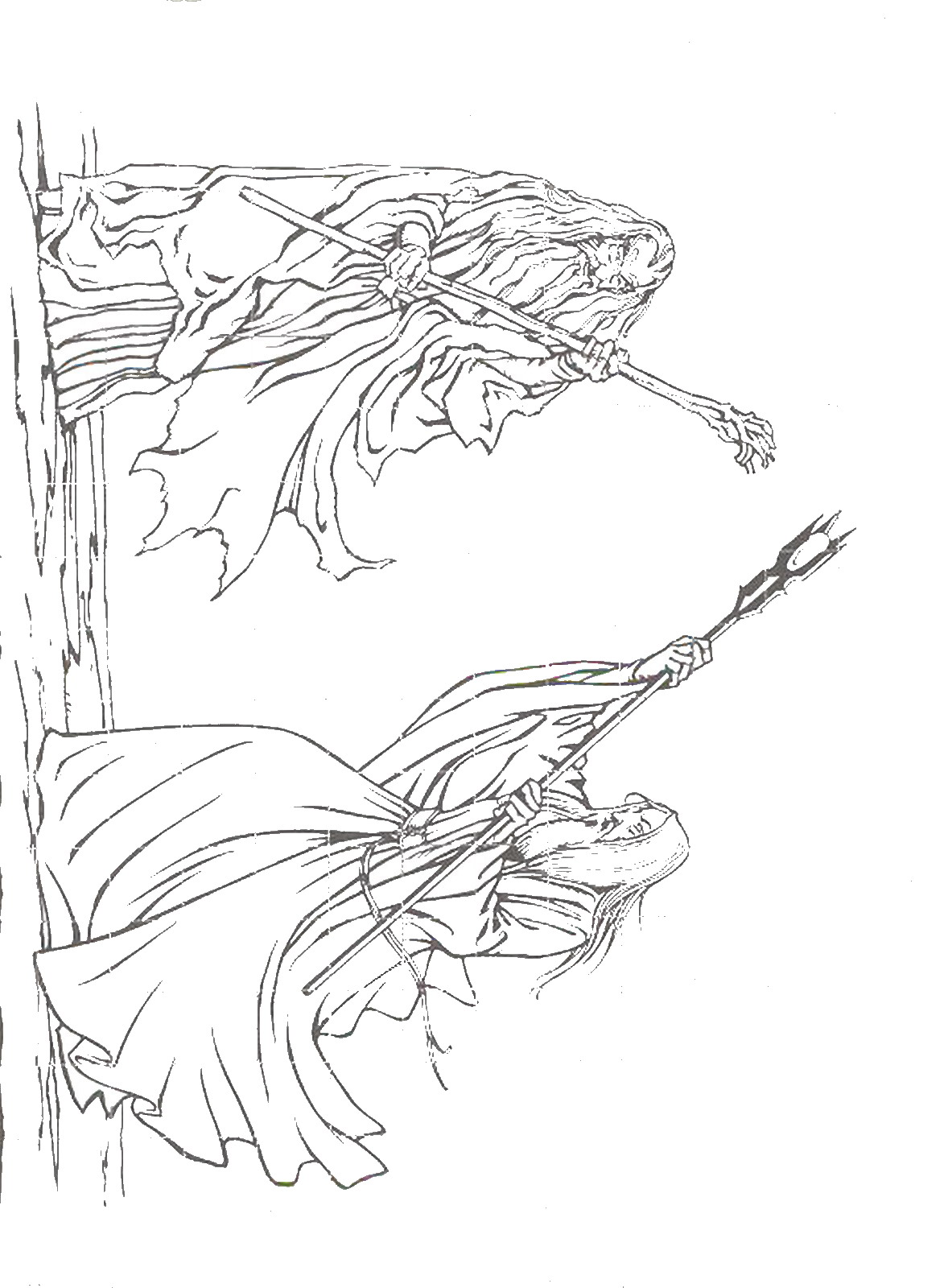 Images About Lord Of The Rings Colouring Pages