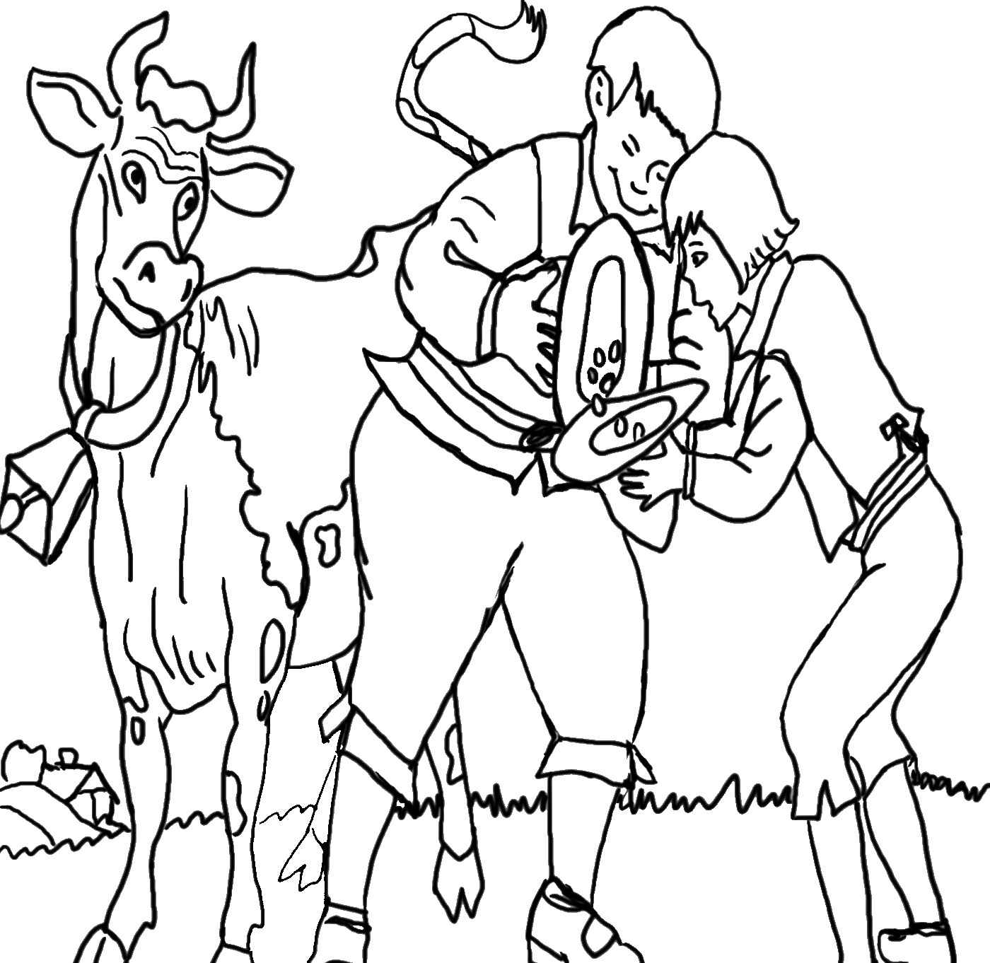Jack Beanstalk Coloring Pages