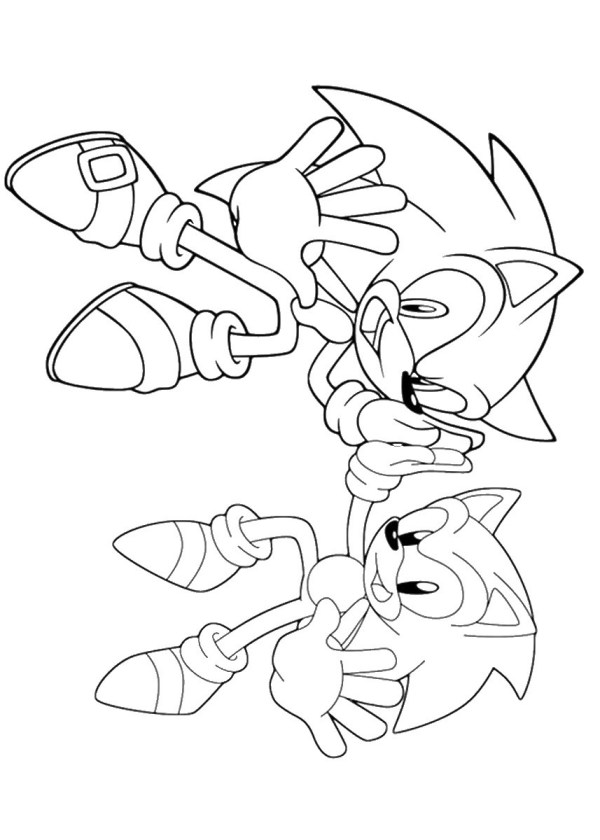 sonic color pages # 58