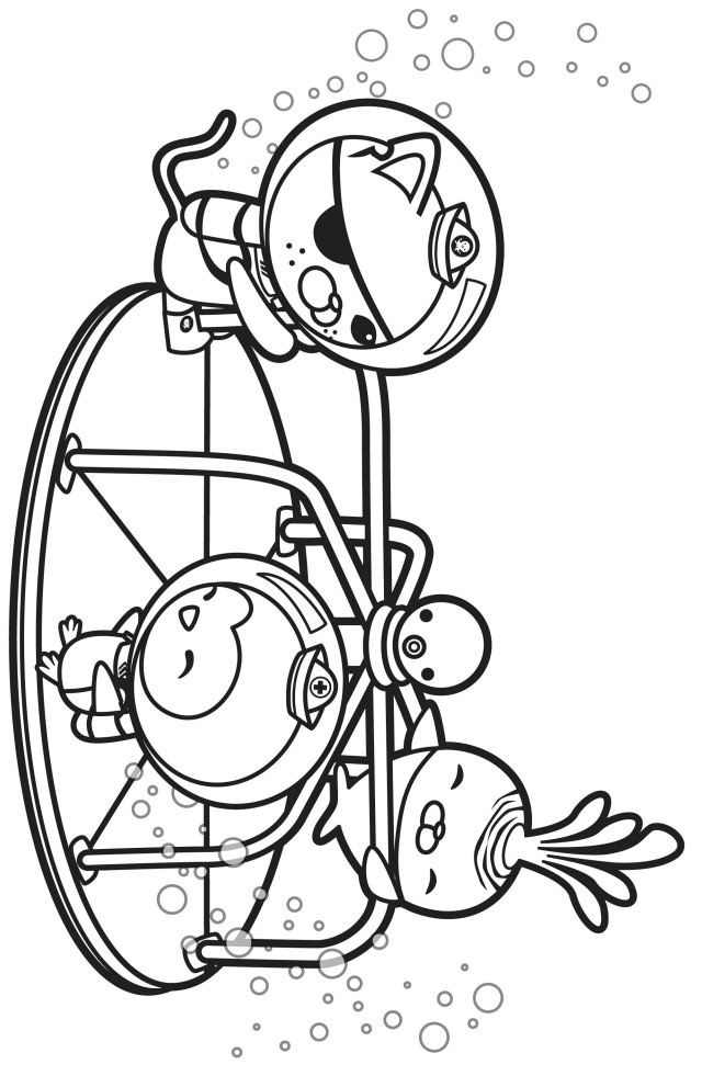 the octonauts coloring pages