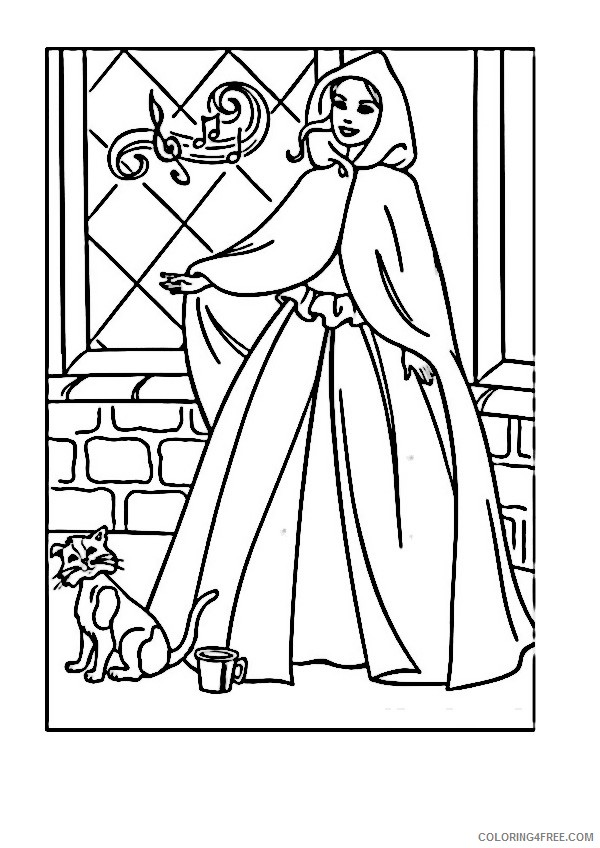 Barbie Coloring Pages Printable Coloring4free Coloring4free Com