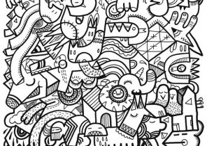 Abstract Coloring Pages Coloring4free Com
