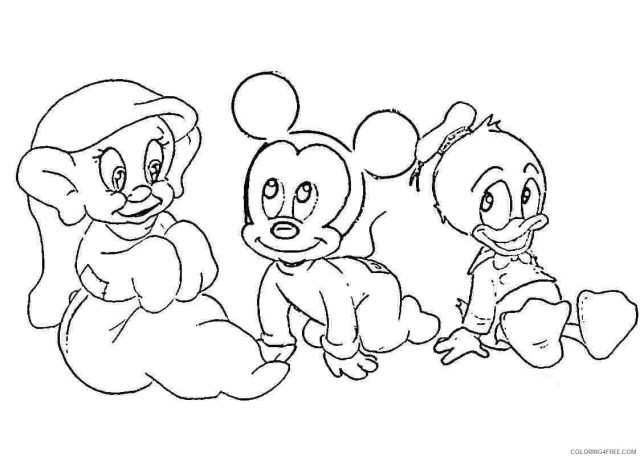 disney baby coloring pages for kids Coloring15free - Coloring15Free.com