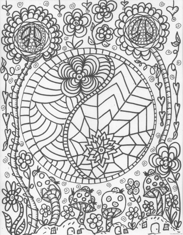 trippy coloring pages free printable Coloring29free - Coloring29Free.com
