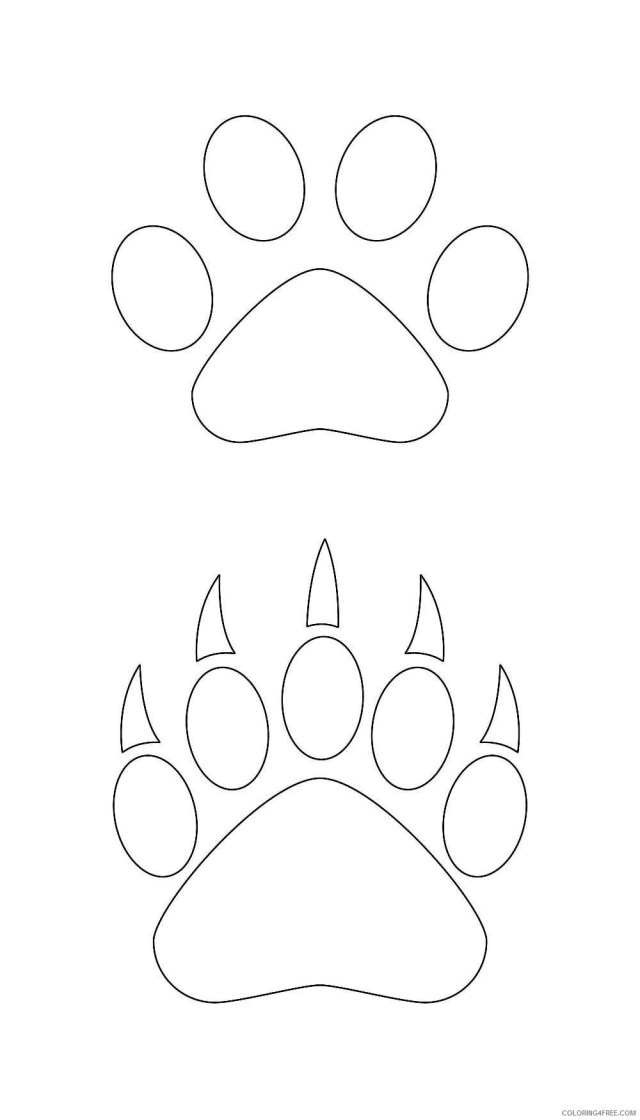 pin bear paw art on pinterest Qo25RKu coloring - Coloring25Free.com
