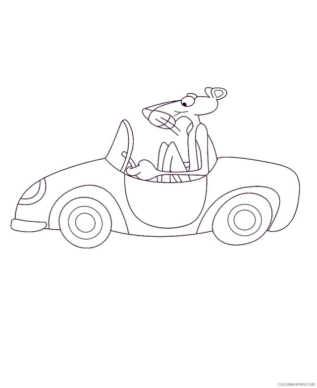 Pink Panther Coloring Pages TV Film pink_panther_cl_23 Printable