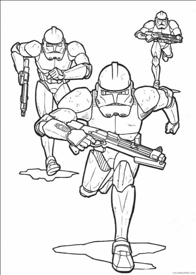 Star Wars Coloring Pages TV Film Stormtroopers Star Wars Printable