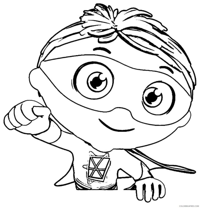 Super Why Coloring Pages TV Film Print Super Why Printable 26