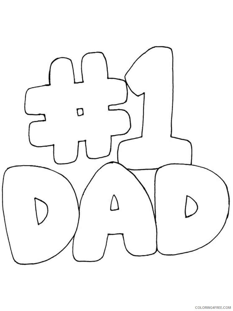 Happy Birthday Daddy Coloring Pages Holiday Happy Birthday Daddy 7 Printable 2021 0719 Coloring4free Coloring4free Com