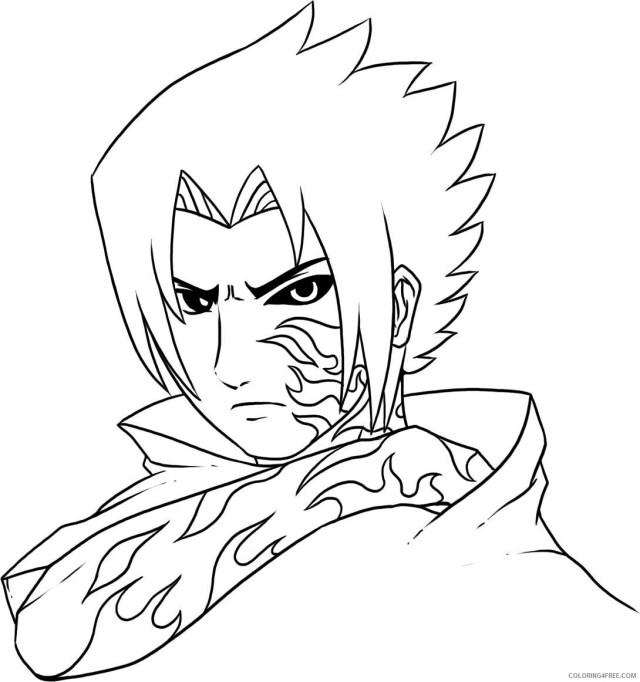 Naruto Printable Coloring Pages Anime Naruto Shippuden To Print