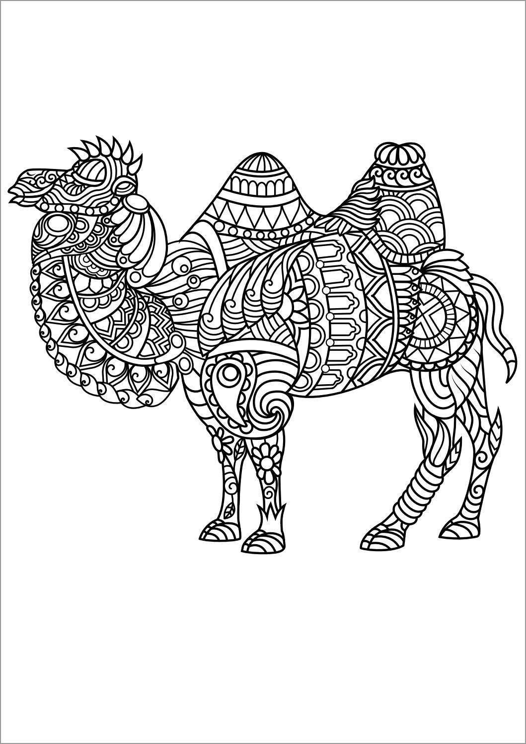 Animal Mandala Coloring Pages - ColoringBay | colouring pages mandala animals