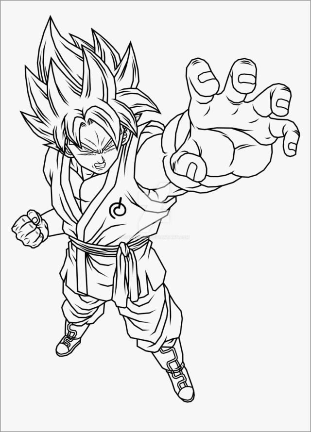 Incredible Dragon Ball Z Coloring Page - ColoringBay