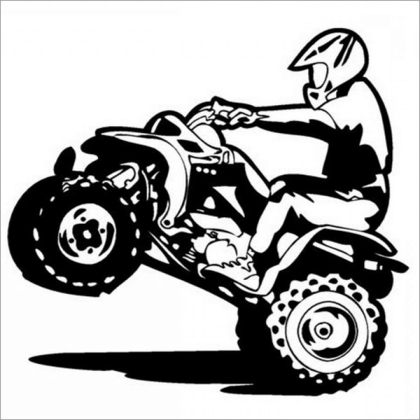 four wheeler coloring pages # 31