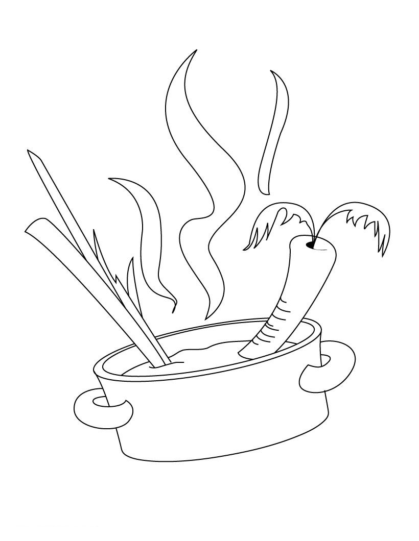 10 best cooking and chefs coloring pages for kids