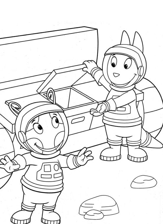 24 best backyardigans coloring pages for kids  updated