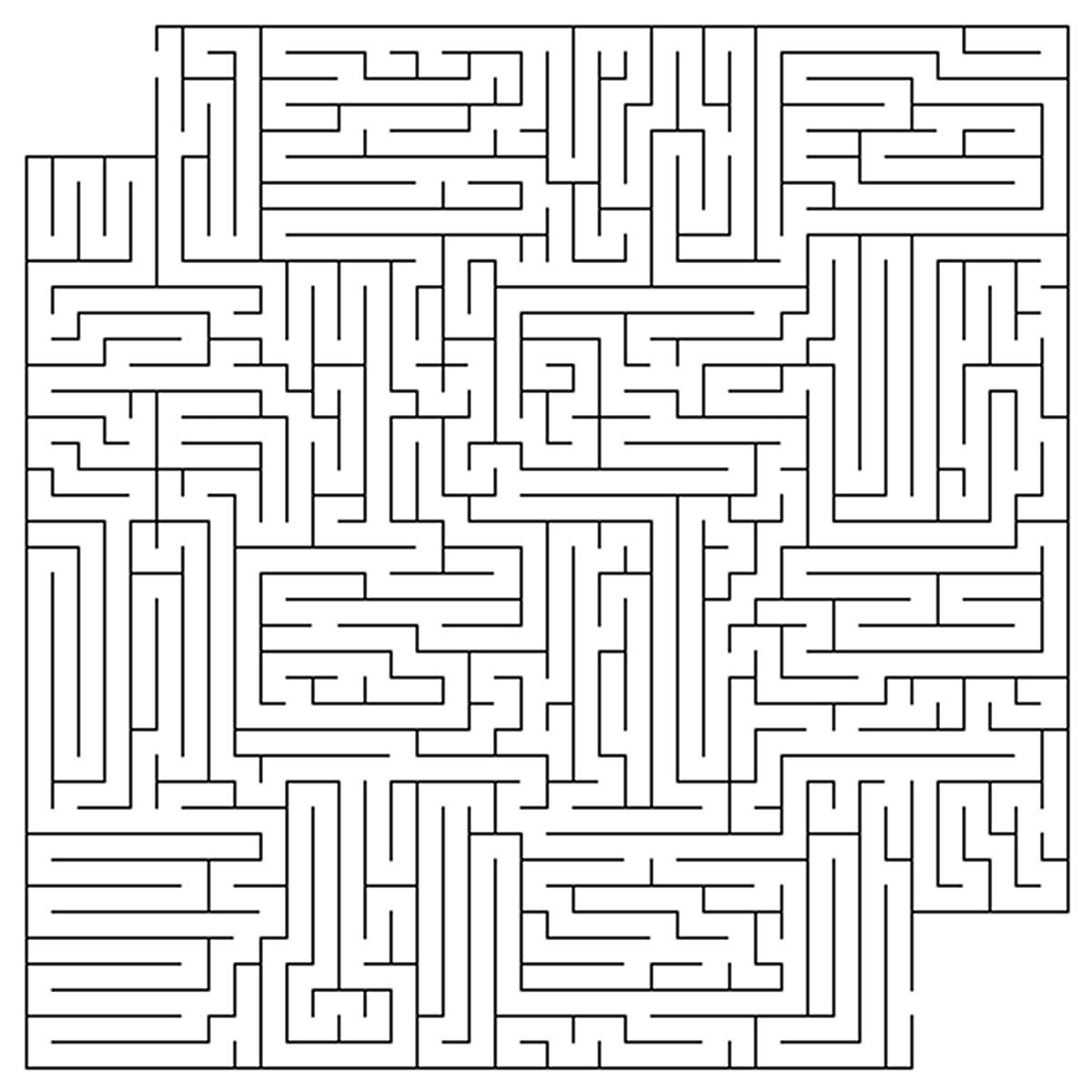 Medium Maze Worksheets