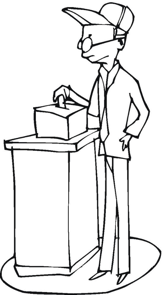36 best election coloring pages for kids  updated