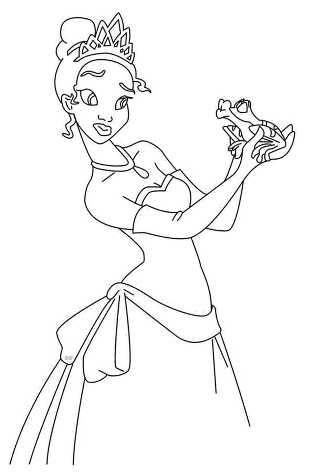 Coloring Pages Of Frog Princes - Coloring - Coloring Home