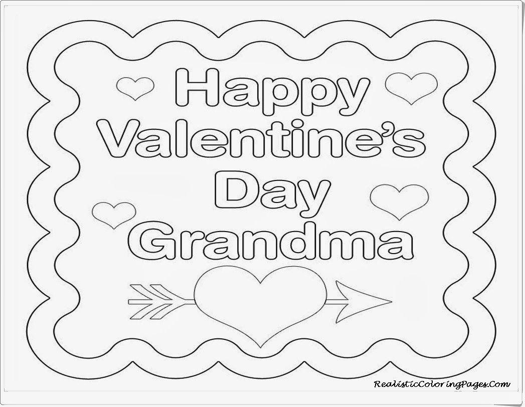 Happy Birthday Grandma Coloring Page