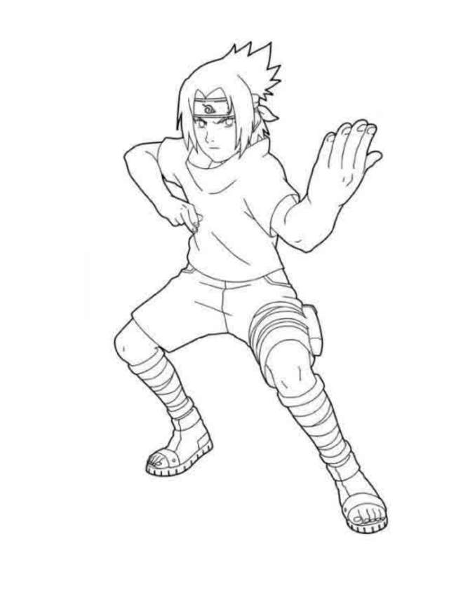 Naruto Shippuden Coloring Book - Coloring Pages For Kids And For