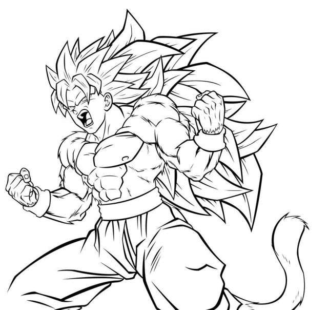 Dragon Ball Z Free Coloring Pages - Coloring Home