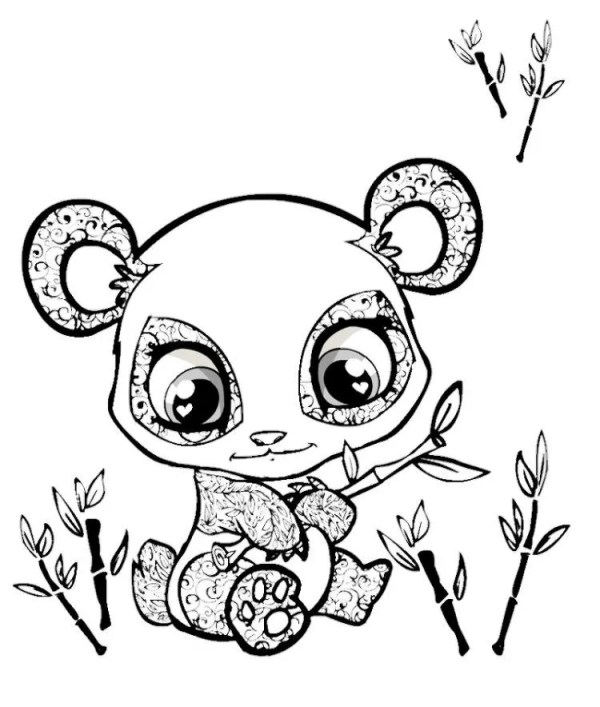 cute coloring pages of baby animals # 16
