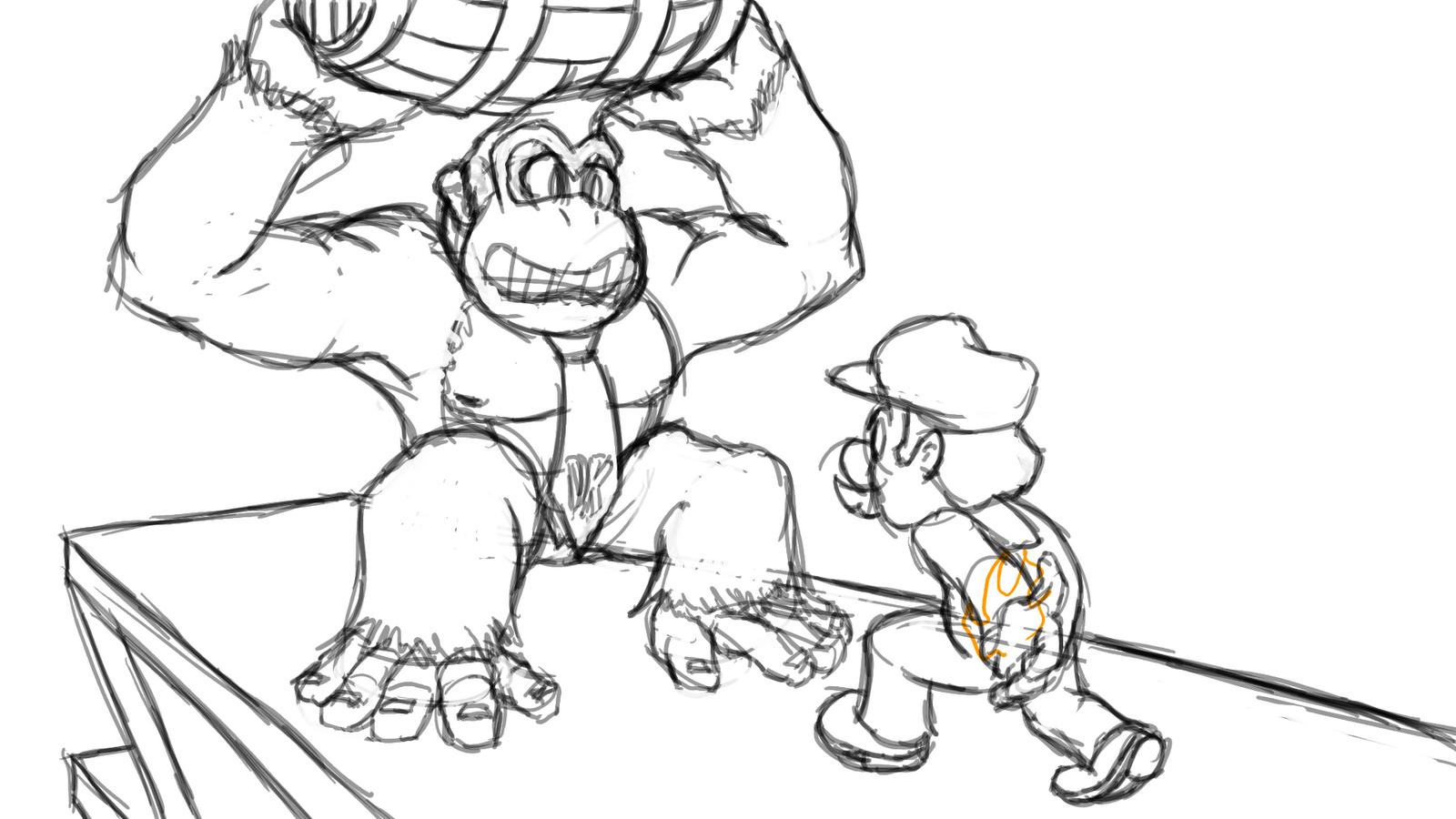 King Kong Coloring Page