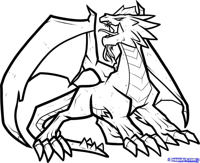Dragon City Coloring Pages - Coloring Home