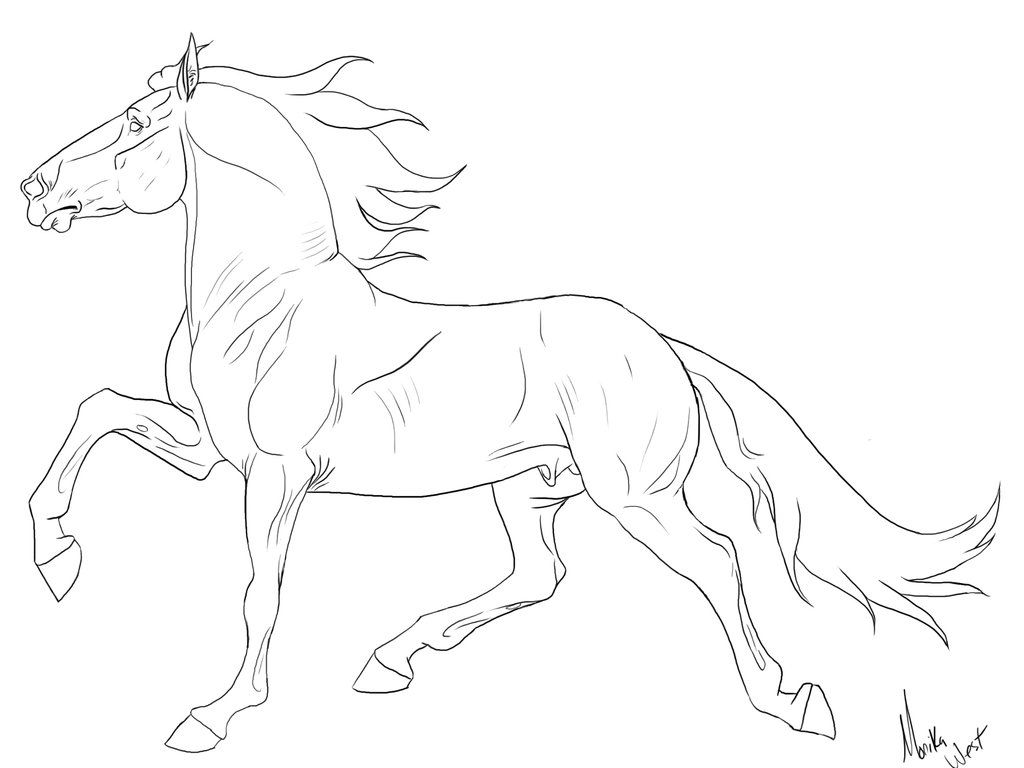 Breyer Coloring Pages