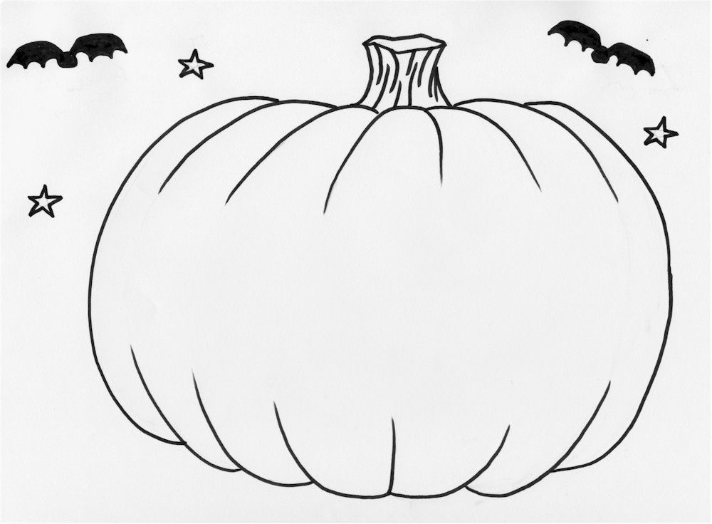 Pumpkin Pictures To Print Coloring Home