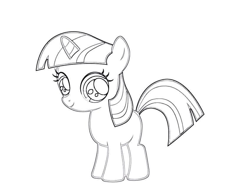 my little pony coloring pages twilight sparkle  coloring home