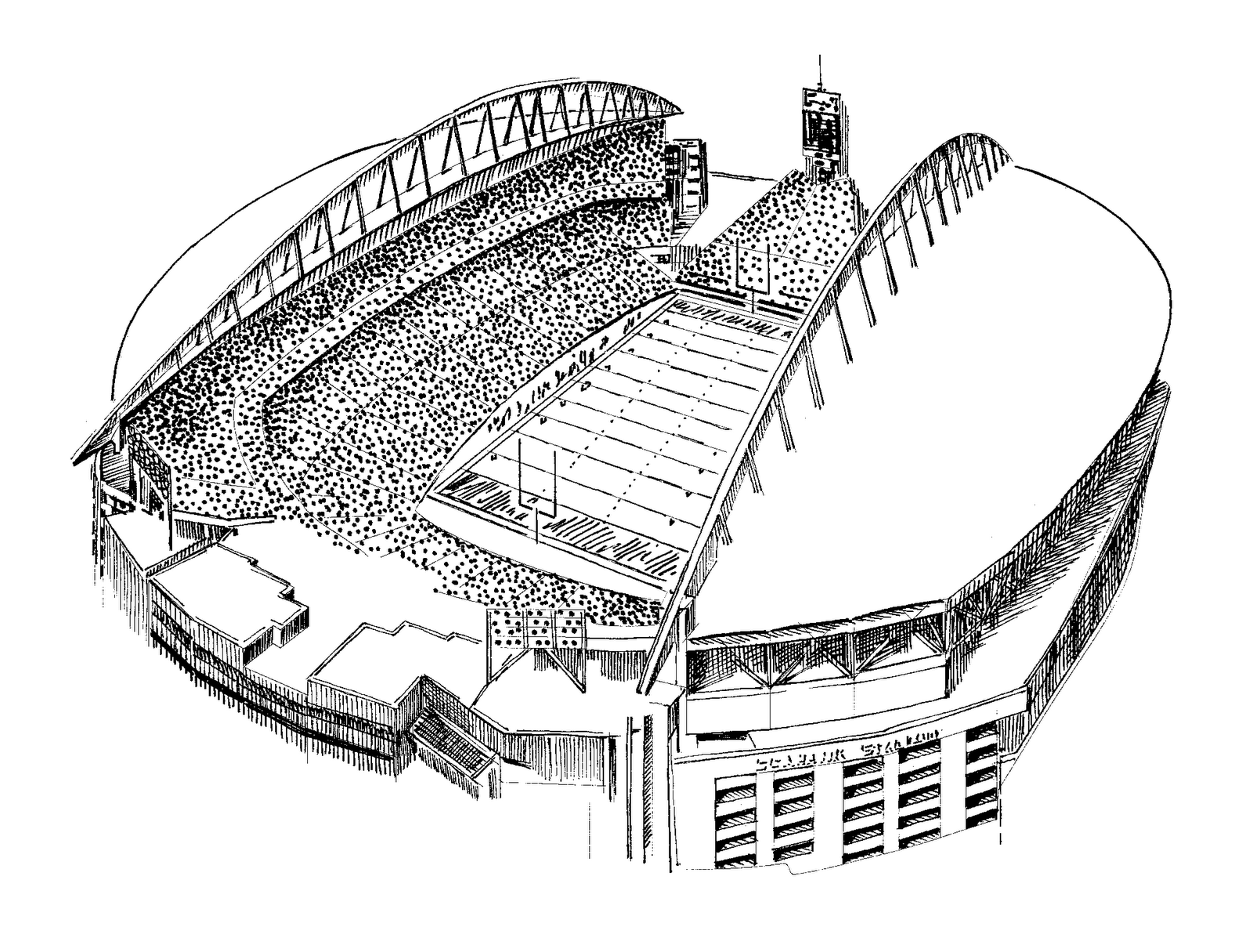 Coloring Pages Stadium