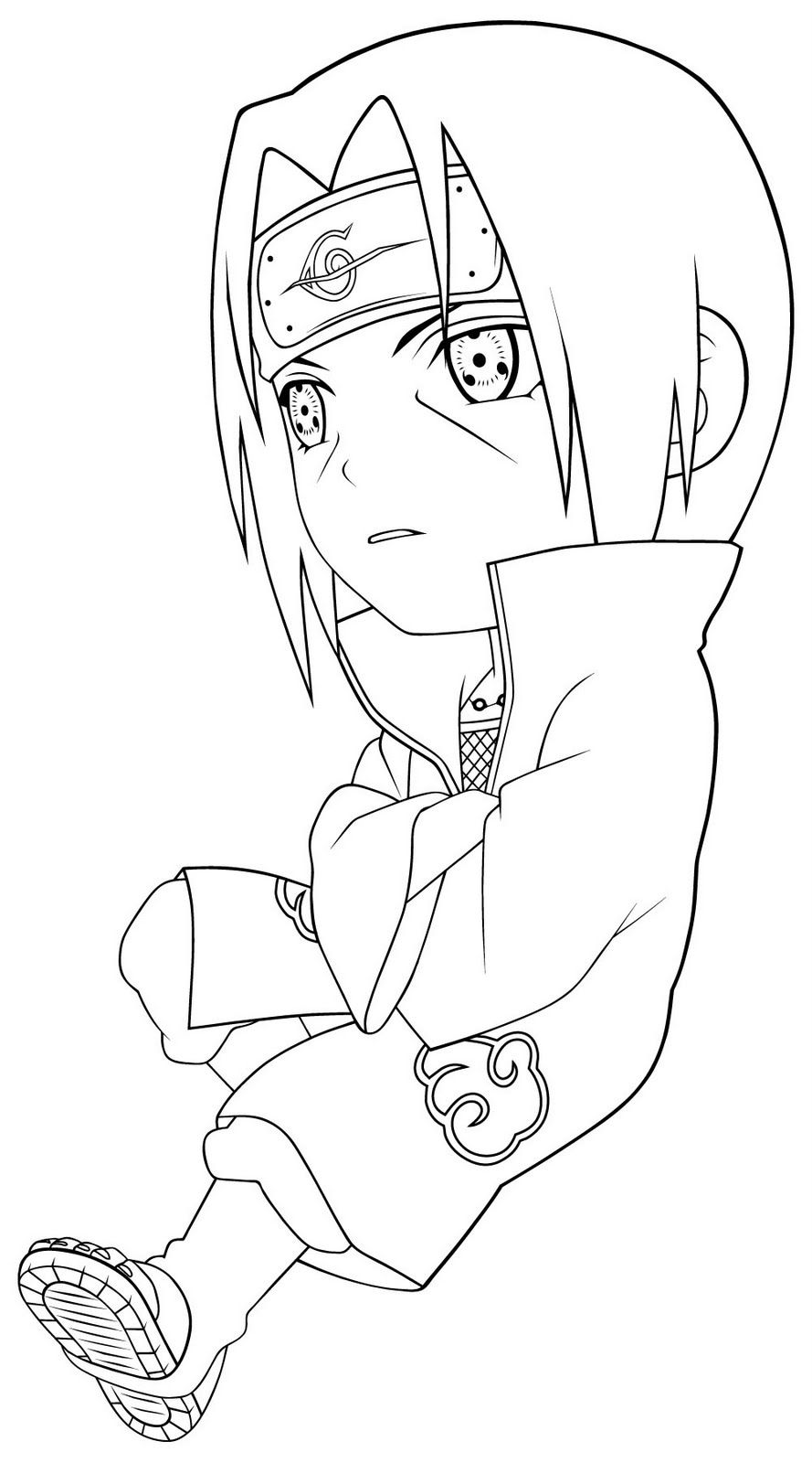 Free Printable Naruto Shippuden Coloring Pages Awesome Coloring