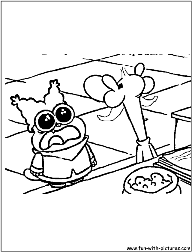 Chowder Cartoon - Coloring Pages For Kids And For Adults