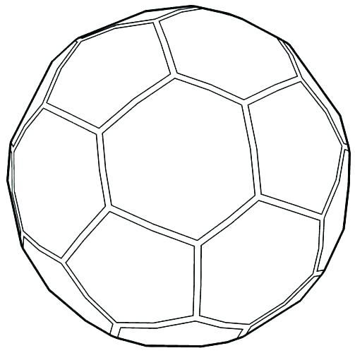 Soccerball Coloring Pages Coloring Home