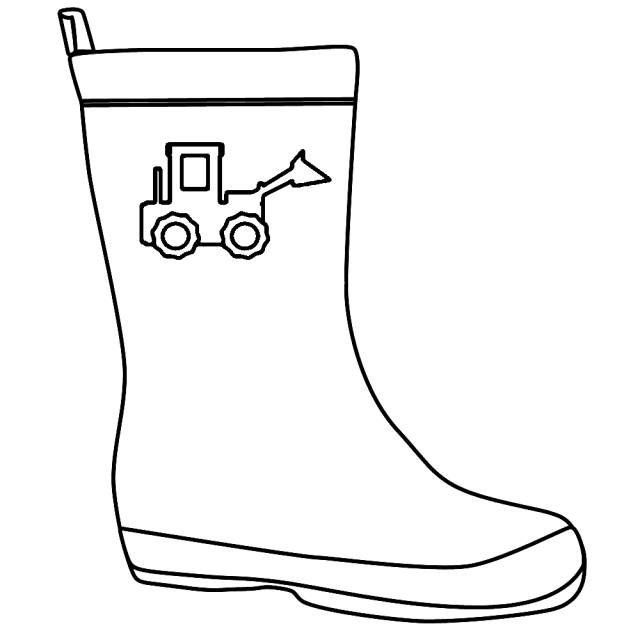Best Photos Of Boots Coloring Pages - Winter Coloring Page Cowboy
