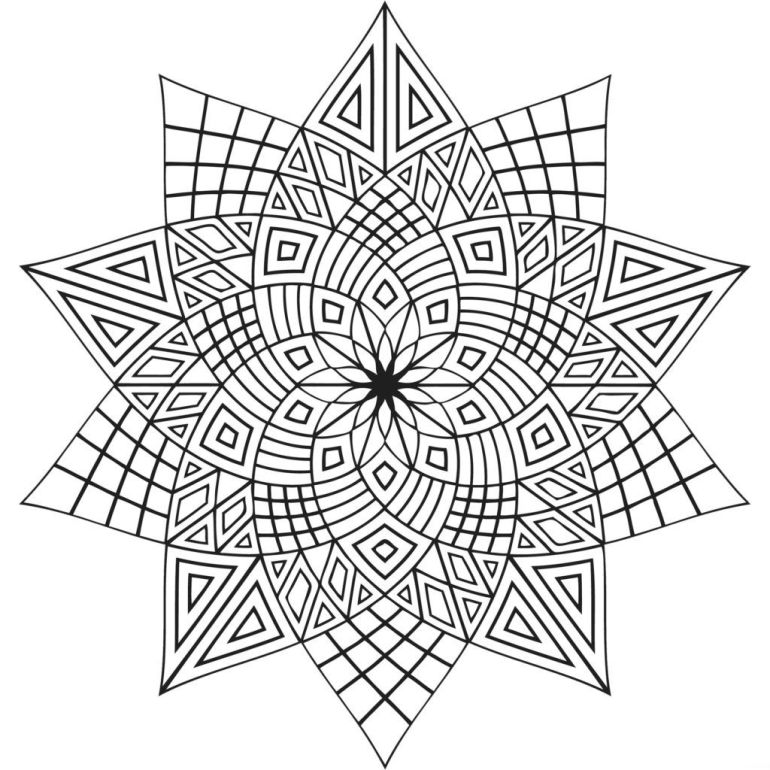 Free Printable Advanced Coloring Pages - Coloring Home | free printable coloring pages for adults advanced