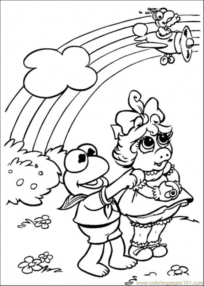 Muppet Babies Coloring Pages Coloring Home