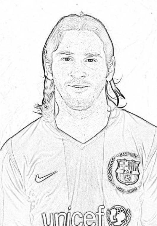 14 pics of  lionel messi coloring pages  lionel messi