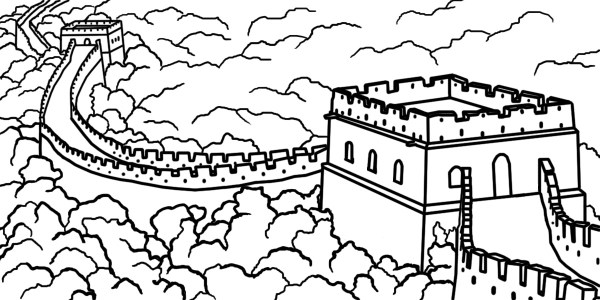 china coloring pages # 27