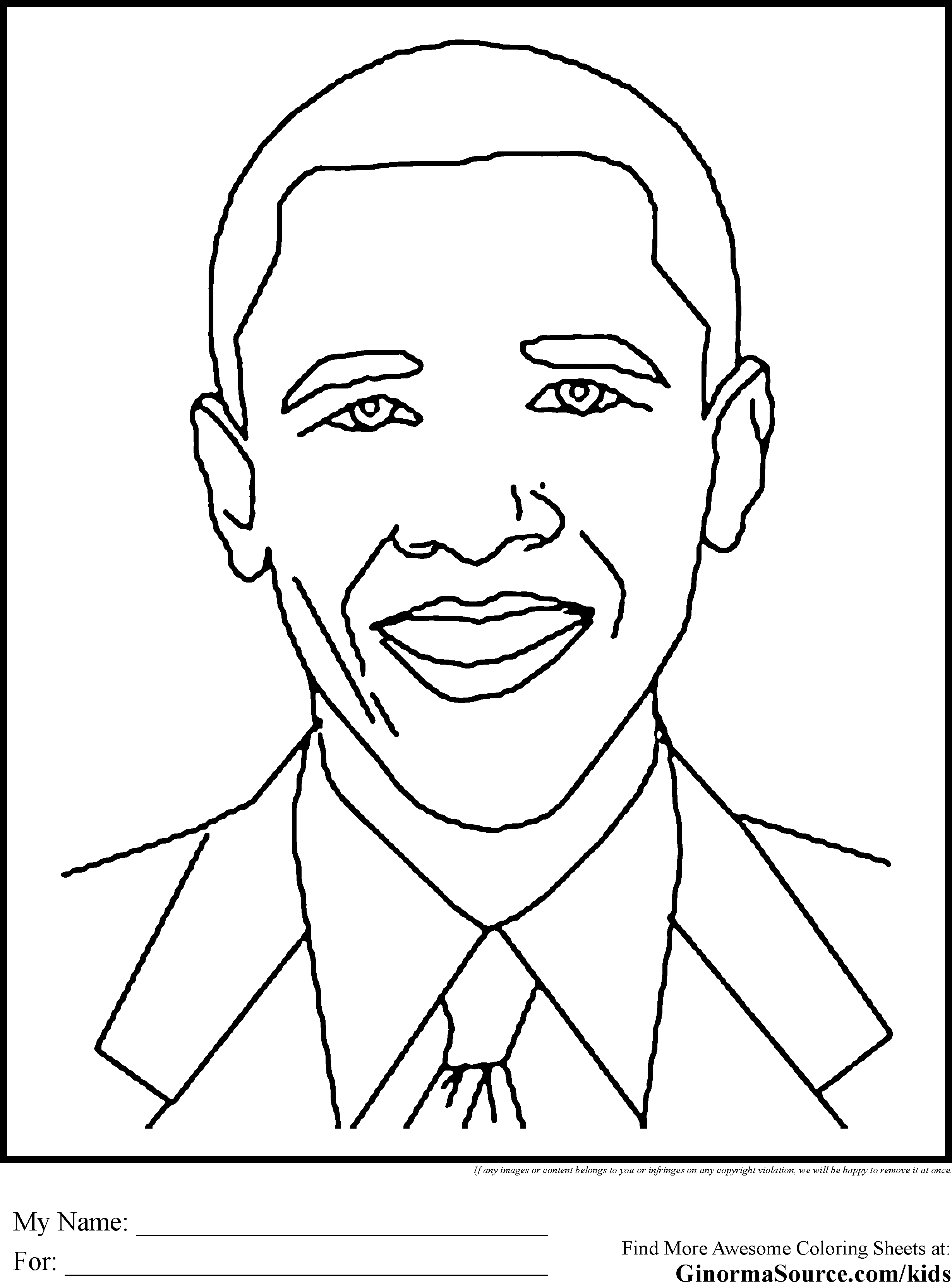 African American Coloring Pages For Kids